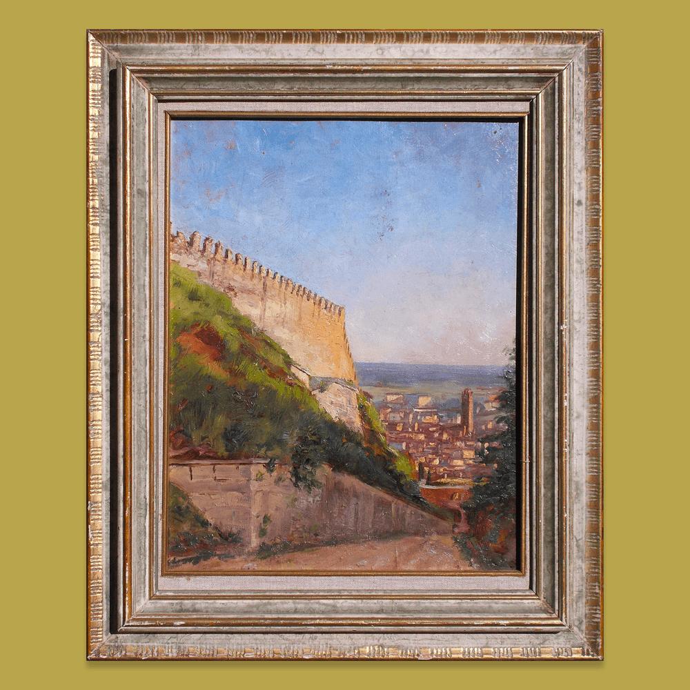 Vendita antiquariato – Oggetti d'arte: dipinto, olio su tela