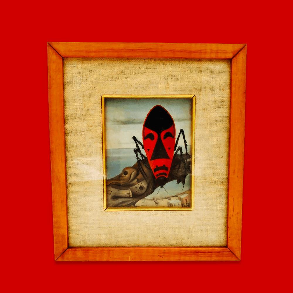 Vendita antiquariato – Oggetti d'arte: dipinto, olio su tela Assetto