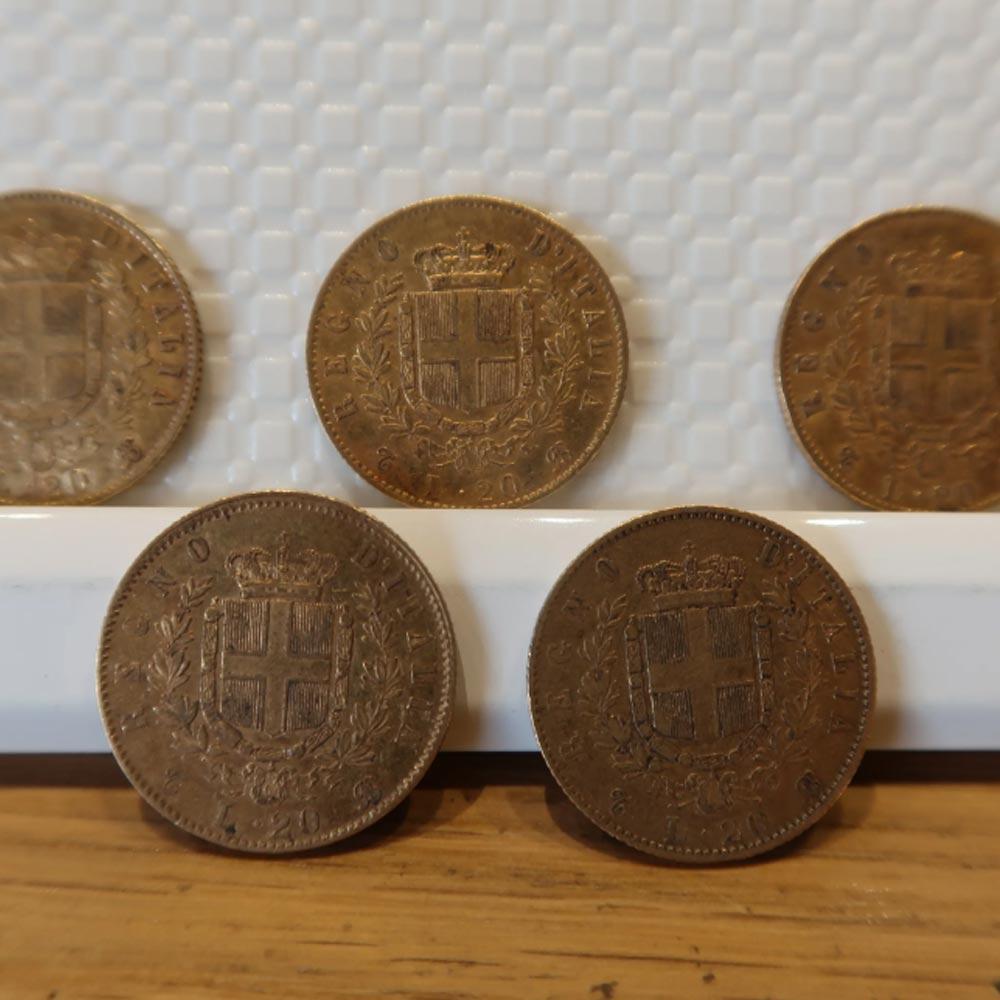 Vendita antiquariato - Oggetti da collezione: numismatica - Aroundart.it - 5