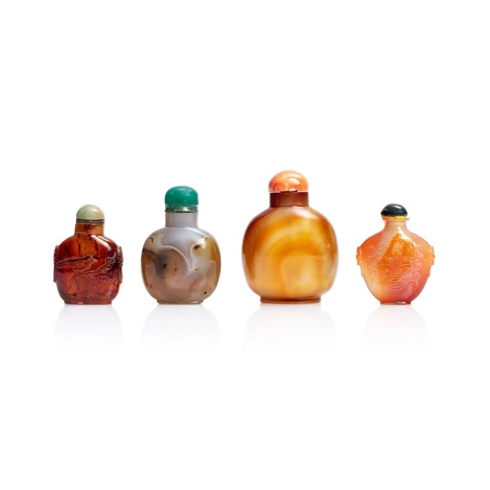 Vendita antiquariato - Complementi di arredo: bocce tabacco da fiuto