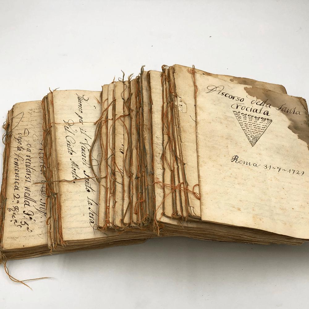 Vendita antiquariato – Arte: libri antichi, prediche cristiane